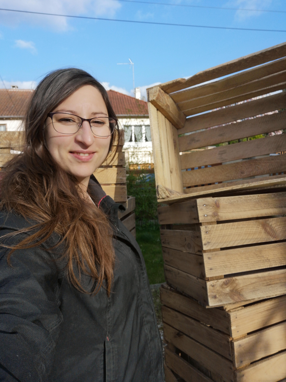 Prix Caisse A Pomme diy meuble de salon en caisses à pomme – les tests de sévy
